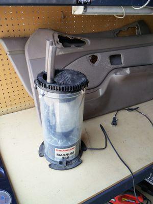 Aquarium filter for Sale in Stockton, CA