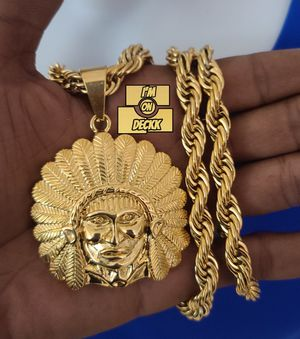 🚨🚨🚨 14k Gold plated Rope Chain 🚨🚨🚨 I Deliver for Sale in Miami, FL