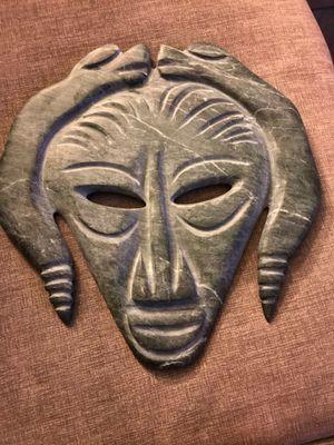 Ceremonial Jade Mask, found in Mexico Valle De Xico (Texcoco) for Sale in Fullerton, CA
