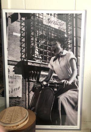 Audrey Hepburn poster photo for Sale in Fontana, CA