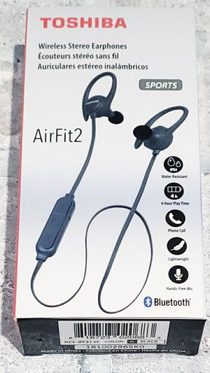 Toshiba Airfit2 Wireless Bluetooth earbuds for Sale in St. Louis, MO