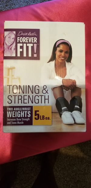 5 pound ankle/ wrist weights for Sale in Montgomery, AL