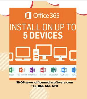 Microsoft Office 365 professional 5 PCS and mac for Sale in Santa Cruz, CA
