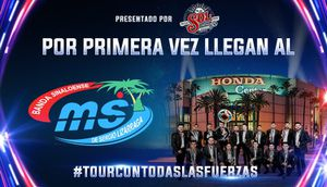 Banda MS @Honda Center Sat July 20 front row of section 2 tickets aisle seats for Sale in Chino, CA