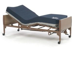 Invacare hospital bed with gel mattress for Sale in Perris, CA