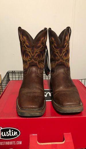 13D Justin work boots for Sale in Stockbridge, GA