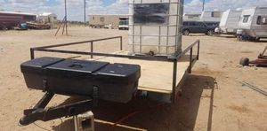 Small trailer with water tank for Sale in Odessa, TX