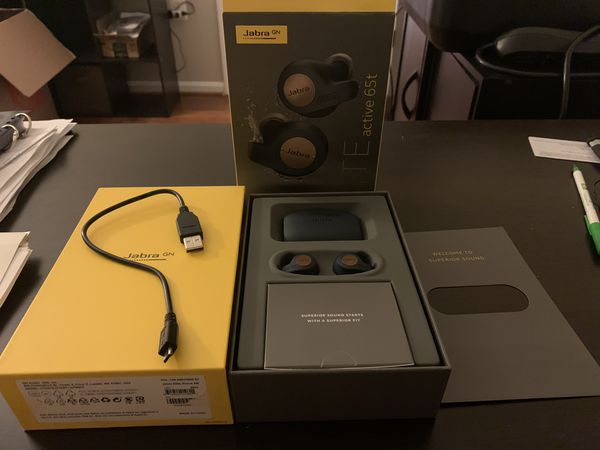Jabra Elite Active 65T True Wireless Earbuds