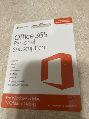 Office 365 Personal Subscription for Sale in Orlando, FL