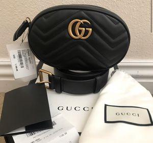 Gucci marmont matelasse belt bag for Sale in Boston, MA