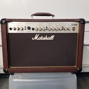 Marshall AS50R Acoustic Soloist 50 Watt Combo Guitar Amplifier - Trades? for Sale in Woodburn, OR