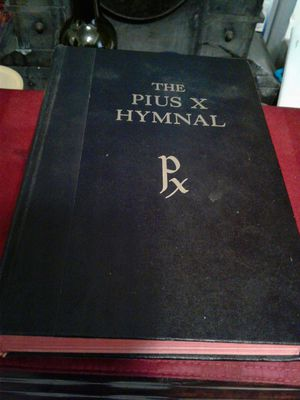 1953 The Pius X Hymnal singers ed. for Sale in Lakeland, FL