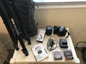 Canon Rebel T3 and accessories for Sale in Tampa, FL