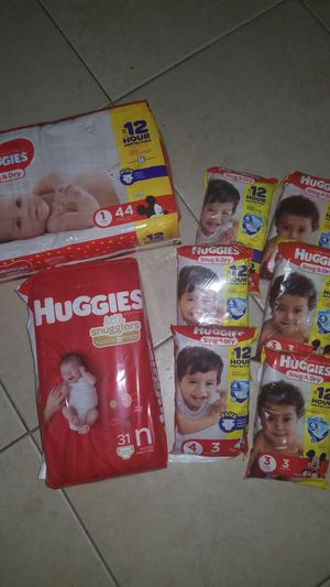 Huggies diapers for Sale in Stuart, FL