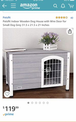 Small Wooden Dog Crate - New for Sale in Maineville, OH