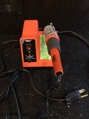 Weller WLC100 40w soldering iron with spare tip for Sale in Potomac, MD