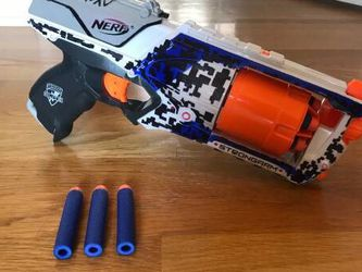 Nerf N Strike Elite Strongarm Toy Blaster with Rotating Barrel for Sale in San Jose,  CA