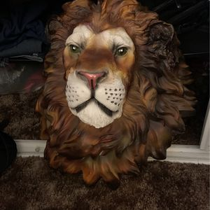 Lion Head Wall Decor for Sale in Spring Valley, CA