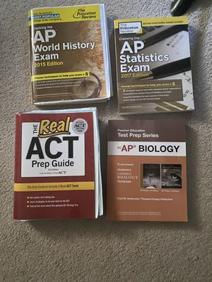 High school ACT prep book and AP exam for Sale in Parkville, MO