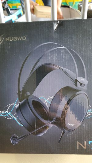 NUBWO Gaming headsets PS4 N7 Stereo Xbox one Headset Wired PC Gaming Headphones with Noise Canceling Mic for Sale in Gwinnett Village, GA