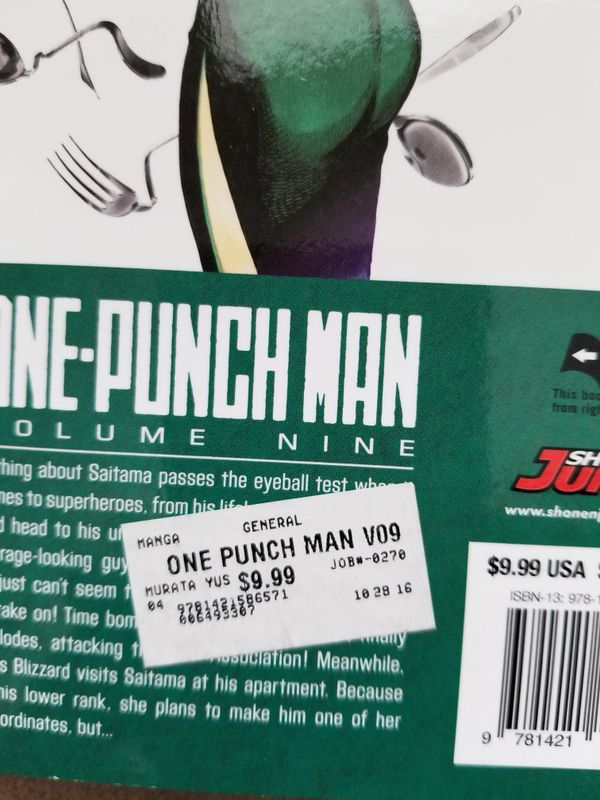 One Punch Man vol.9