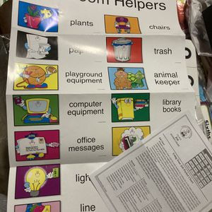 Home School, Teacher, Helper Chart for Sale in San Antonio, TX