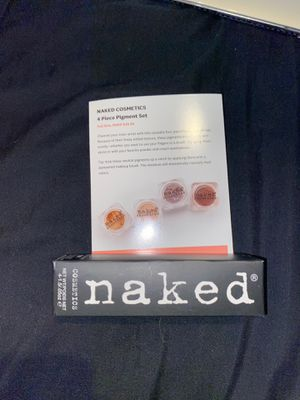 Naked cosmetics - 4 piece pigment set for Sale in Long Beach, CA