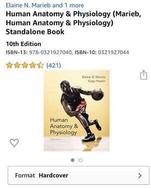 Human anatomy & physiology 10th edition for Sale in Boring, OR
