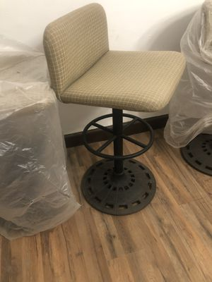 Iron based bar stools for Sale in Detroit, MI