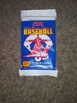 1989 Major League Baseball Card Pack for Sale in Lenoir City,  TN