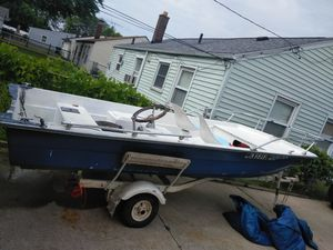 Boat motor and trailer for Sale in Roseville, MI