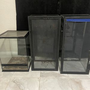40 Gallon Breeder And An Exo Terra for Sale in Miami, FL