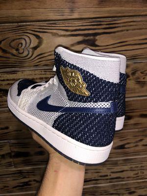 Nike Air Jordan Retro 1 High Flyknit 'Re2pect' size 8.5 for Sale in Miami, FL