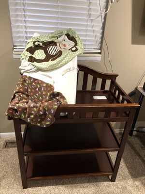 All 3 Changing Table, Pad, 3 covers$40 for Sale in Saint CLR SHORES, MI