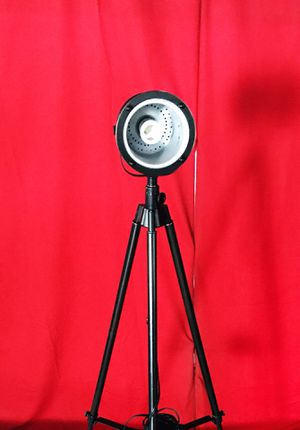 Vintage Industrial Spotlight Tripod Floor Lamp for Sale in Fort Lauderdale, FL