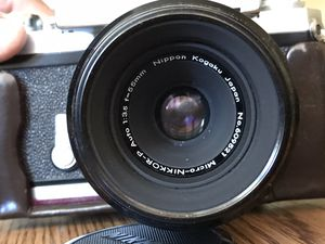 NIKON F PHOTOMIC VINTAGE CAMERA, 55mm & 135mm for Sale in Wyoming, MI