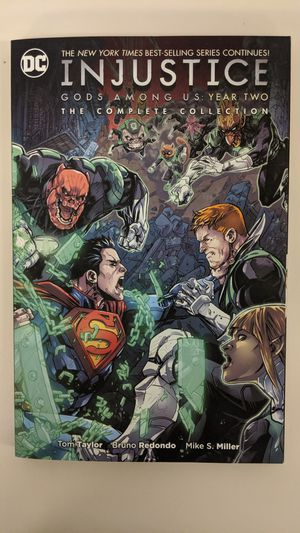 Injustice Year Two Complete Collection Graphic Novel for Sale in Houston, TX