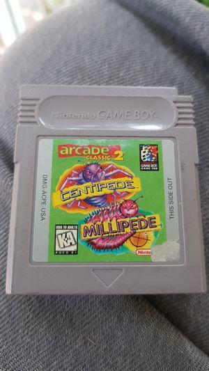 Nintendo GAMEBOY arcade classic 2 centipede millipede for Sale in Compton, CA