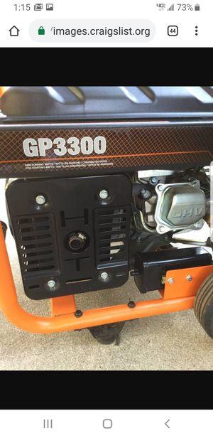 GENERAC GP3300 GENERATOR LIKE NEW. for Sale in Ontario, CA