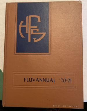1970-1971 Fluvanna High School Yearbook for Sale in Lynchburg, VA