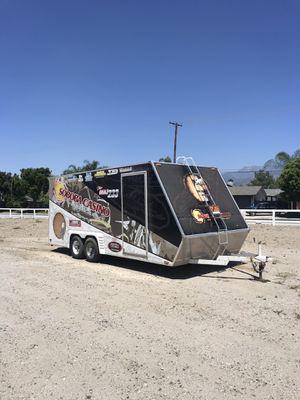 TPD race trailer custom built for Sale in Hemet, CA
