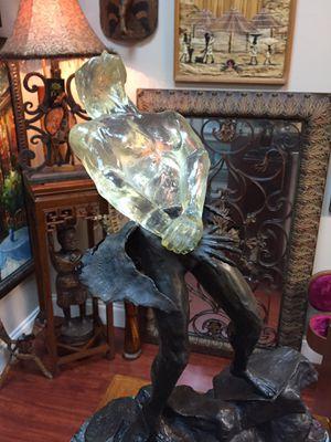DEAN KERMIT ALLISON BORN AGAIN BRONZE MARBLE SCULPTURE AUTHENTIC for Sale in Tamarac, FL