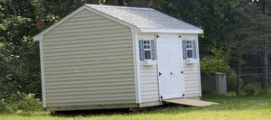 New Almond Vinyl 10' x 14' A Frame Shed for Sale in Rehoboth, MA
