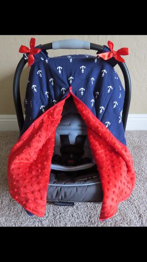Nautical car seat canopy for Sale in Ocean Springs, MS