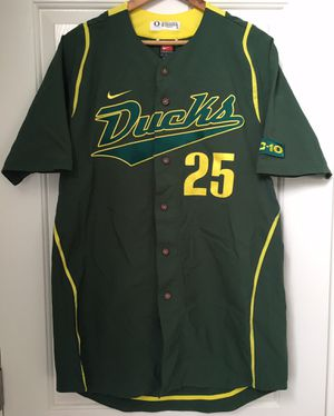 Nike University of Oregon Ducks Authentic Game Issued Baseball Jersey #25 sz. 42 +2 length for Sale in Fairview, OR