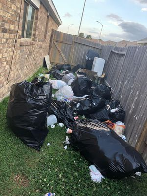 Need Trash picked up for Sale in Houston, TX