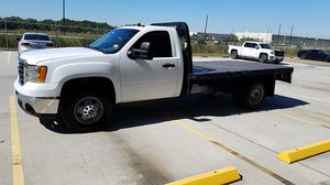 2009 GMC Sierra 3500 12ft flatbed for Sale in Humble, TX