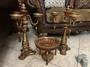 Candle holders and table centerpiece for Sale in San Antonio, TX
