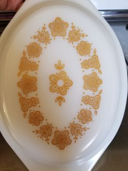 Vintage Pyrex Butterfly Gold Casserole Lid for Sale in La Mirada,  CA
