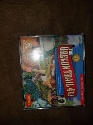 Oregon trail computer game for Sale in Belfair, WA